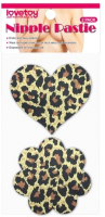 Набор пэстисов LoveToy Leopard Sexy Nipple Pasties / LV763001 (2 пары) -