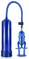 Вакуумная помпа для пениса LoveToy Maximizer Worx Limited Edition Pleasure Pro Pump / LV1440 (голубой) -