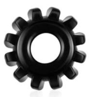 Эрекционное кольцо LoveToy Power Plus Cock Ring / LV1432Blk -