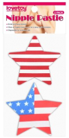 Набор пэстисов LoveToy Stars and Stripes Nipple Pasties / LV763004 -