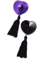 Набор пэстисов Erolanta Denise / 790025 (фиолетовый/черный) -