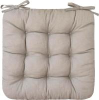 Подушка на стул Smart Textile 40х40 / ST494 (поролоновая крошка, лен) -