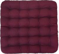 Подушка на стул Smart Textile Уют-Премиум 40x40 / ST167 (лузга гречихи, бордовый) -