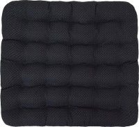 Подушка на стул Smart Textile Уют-Премиум 40x40 / ST167 (лузга гречихи, черный) -