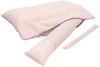 Подушка для сна Smart Textile Бьюти 40x60 / ST813 (лузга гречихи, лаванда) -