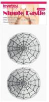 Набор пэстисов LoveToy Reusable Spider Glittering Sexy Nipple Pasties / LV763015 -