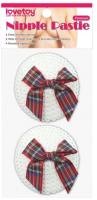Набор пэстисов LoveToy Reusable Sequin Round Nipple Pasties / LV763014 -