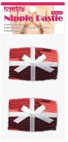 Набор пэстисов LoveToy Reusable Christmas Sequin Square Nipple Pasties / LV763013 -