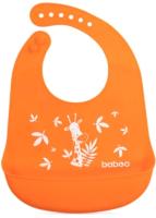 Нагрудник детский Baboo Safari / 11-006 (оранжевый) -