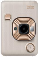 Фотоаппарат с мгновенной печатью Fujifilm Instax Mini LiPlay (Beige Gold) -