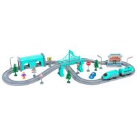 Железная дорога игрушечная Givito Мой город / G201-008 -