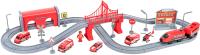Железная дорога игрушечная Givito Служба спасения / G201-007 -