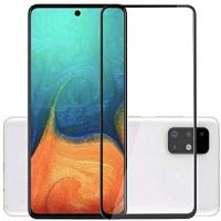 Защитное стекло для телефона Case 111D для Galaxy A71 (черный глянец) -