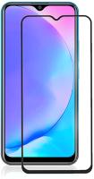 Защитное стекло для телефона Case 111D для Vivo Y11/Y12 (черный глянец) -