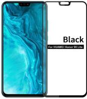 Защитное стекло для телефона Case 111D для Huawei Honor 9X Lite (черный глянец) -