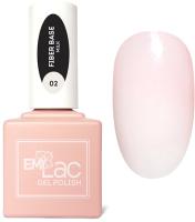 База для гель-лака E.Mi E.MiLac Fiber Base Gel Milk №2 (15мл) -