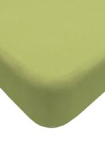 Простыня Lovkis Home Трикотаж 160x200x20 / 0010-4 (салатовый) -
