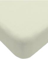 Простыня Lovkis Home Трикотаж 160x200x20 / 0010-6 (молочный) -