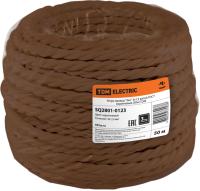 Провод силовой TDM Эко / SQ2801-0123 (50м, коричневый) -