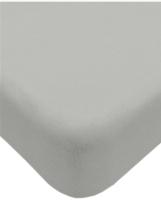 Простыня Lovkis Home Трикотаж 160x200x20 / Мр0010-10 (светло-серый) -