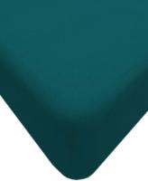 Простыня Lovkis Home Трикотаж 160x200x20 / Мр0010-13 (морская волна) -