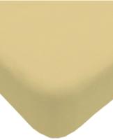 Простыня Lovkis Home Трикотаж 160x200x20 / Мр0010-22 (кремовый) -