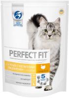 Корм для кошек Perfect Fit Для взрослых кошек с чувствительным пищеварением с индейкой (650г) -