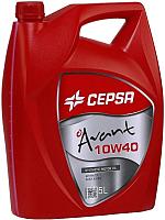 Моторное масло Cepsa Avant 10W40 Synt / 512633073 (5л) -
