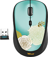 Мышь Trust vi Wireless Mouse Flower / 19521 -