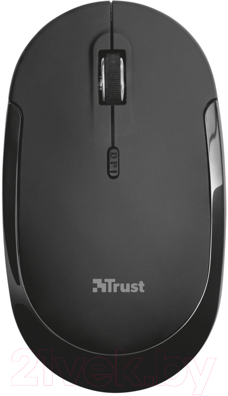 Купить Мышь Trust, Mute Silent Click Wireless Mouse / 21833, Китай