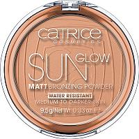 Бронзер Catrice Sun Glow Matt Bronzing Powder с эффектом загара матирующая 035 (9.5г) -