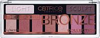 Палетка теней для век Catrice The Blazing Bronze Collection 9 в 1 тон 010 (10г) -