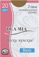 Носки Dea Mia 1511 (р.23-25, bronz) -