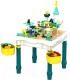 Развивающий игровой стол Pituso С конструктором + 1 стул / 6875913 -