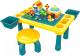 Развивающий игровой стол Pituso С конструктором + 1 табурет / 6937067 -