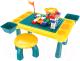Развивающий игровой стол Pituso С конструктором + 1 табурет / 6731834 -