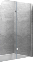 Стеклянная шторка для ванны Kolpa-San Terra TP 112 D -