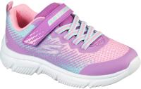 Кроссовки детские Skechers 302430L-PRMT / VSF3BRF75C (р.12, фиолетовый/мультицвет) -