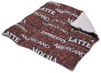 Подставка под горячее Smart Textile Energy с кофейными зернами 22x22 / ST634 -