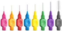 Ершики межзубные TePe Original MIXED для чистки брекетов и имплантов в мягкой упаковке (8шт) -