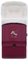 Конверт детский Nuovita Alaska Bianco (бордовый) -