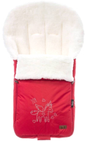 Конверт детский Nuovita Islanda Bianco (красный) -