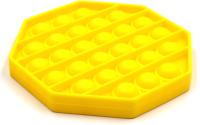 Антистресс Pop It Восьмиугольник (желтый) -