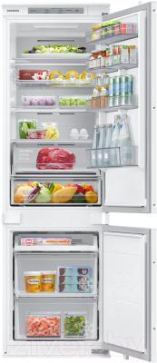 Встраиваемый холодильник Samsung BRB267054WW/WT
