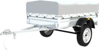 Прицеп для автомобиля ТитаН 2013 / 7197-0000010-01 (30см борт, тент 300мм) -