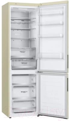 Холодильник с морозильником LG DoorCooling+ GA-B509CEUM