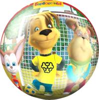 Мяч детский ЯиГрушка Барбоскины / 59548ЯиГ (красный) -