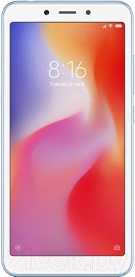 Смартфон Xiaomi Redmi 6A 2GB/16GB (голубой)