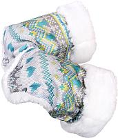 Рукавички для коляски Ника РС1 (вязаный, бирюзовый) -