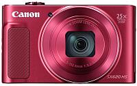 Компактный фотоаппарат Canon Powershot SX620 HS RE / 1073C015 (красный) -